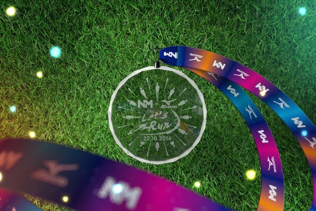 Letsrun x Mizuno Medal 3D v3(HI)
