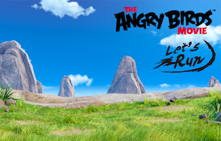 Let's Run x Angry Birds